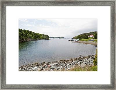 High Tide Framed Print by Andrew J. Martinez