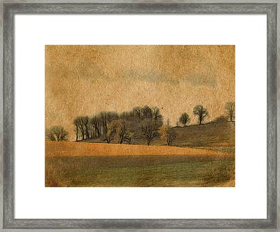 Hill Country Framed Print by Bonnie Bruno