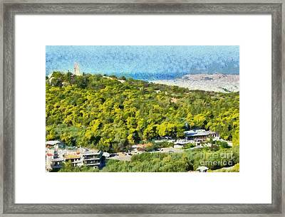 Hill Of Philopappos  Framed Print