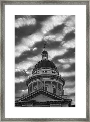 Framed Print featuring the photograph Historic Auburn Courthouse by Sherri Meyer
