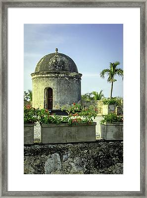 Historic Spanish Colonial Walls Framed Print