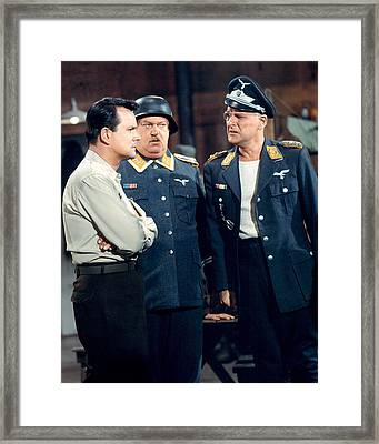 Hogan's Heroes  Framed Print by Silver Screen