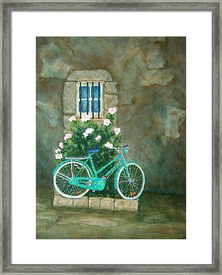 Home For Lunch In Rome Framed Print by Pamela Allegretto