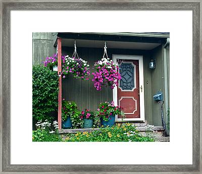 Home Sweet Home Framed Print by Frozen in Time Fine Art Photography