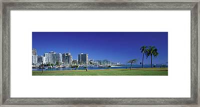 Honolulu Hawaii Framed Print by Panoramic Images