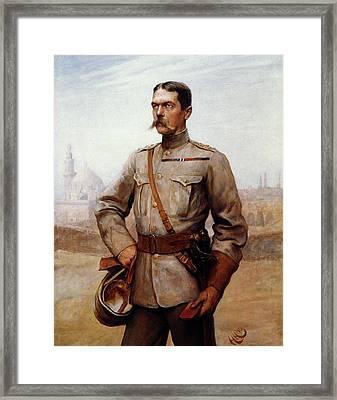 Horatio Herbert Kitchener (1850-1916) Framed Print by Granger