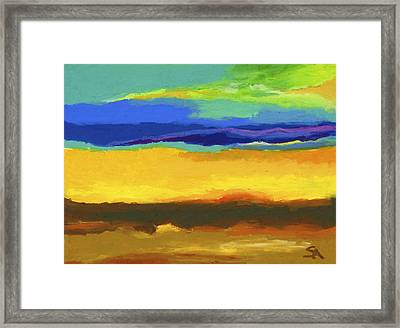 Horizons Framed Print by Stephen Anderson