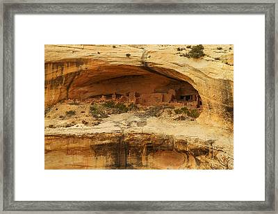 Horse Collar Ruins Framed Print by Jeff Swan