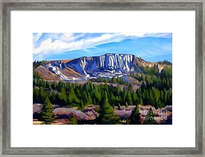 Horse Mesa Framed Print by Katrina West