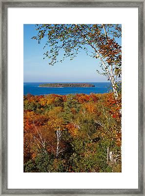Horseshoe Island Framed Print