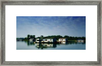 Horseshoe Pond Framed Print