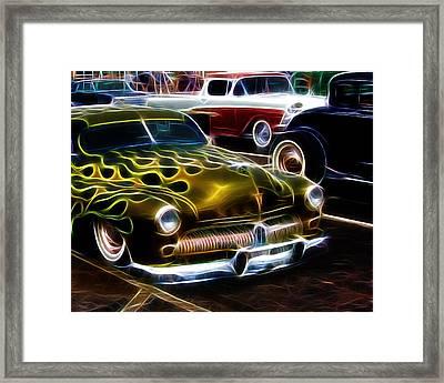 Hot Rods Framed Print by Steve McKinzie