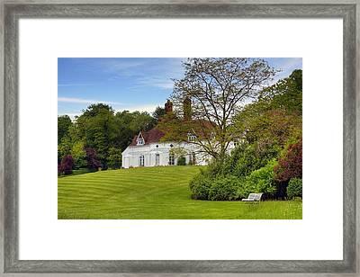 Houghton Lodge Framed Print by Joana Kruse