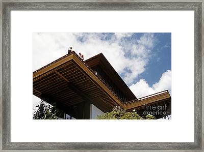House Designed By Ralph D. Anderson Framed Print