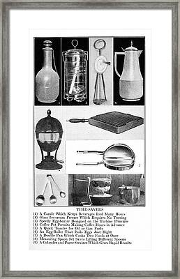 Housekeeping, 1913 Framed Print