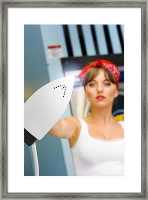 Housework Framed Print by Jorgo Photography - Wall Art Gallery