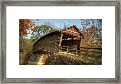 Humpback Covered Bridge Framed Print