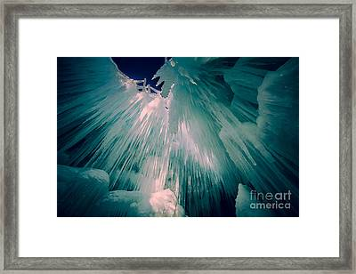 Ice Castle Framed Print