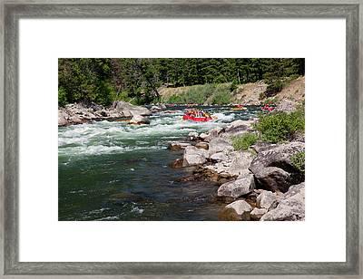 Idaho, Near Stanley, Salmon River Framed Print
