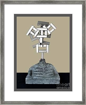 Identity Crisis 03 Framed Print