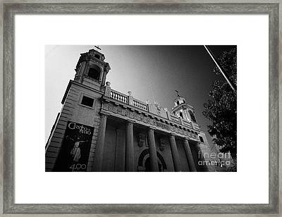 iglesia san agustin Santiago Chile Framed Print by Joe Fox