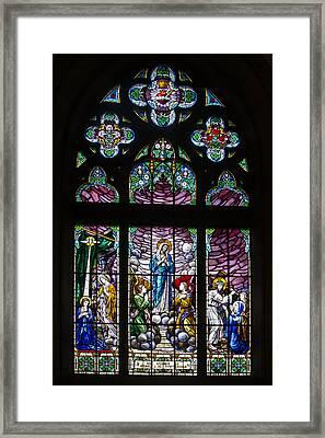 Igreja Luterana Of Petropolis - Brazil Framed Print by Jon Berghoff