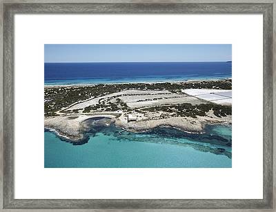 Illetes Beach, Formentera Framed Print by Xavier Durán