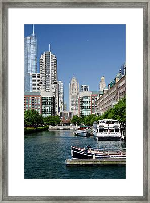Illinois, Chicago Framed Print by Cindy Miller Hopkins