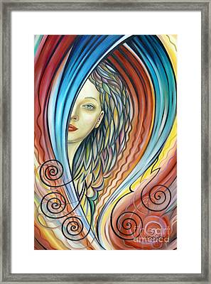 Illusive Water Nymph 240908 Framed Print