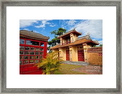 Imperial City Of Hue Vietnam Framed Print by Fototrav Print