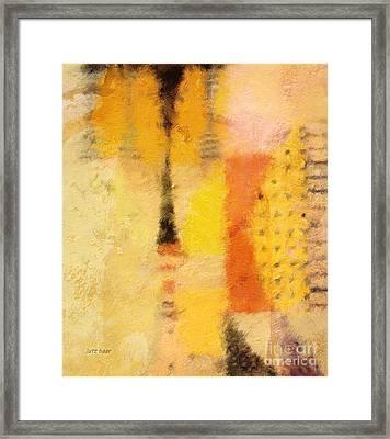 Impression II Framed Print