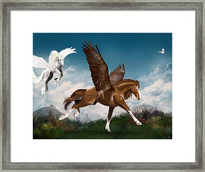In A Hurry Framed Print by Kate Black