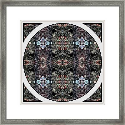 In Anticipation Of A Continuum Two Framed Print by Jack Dillhunt
