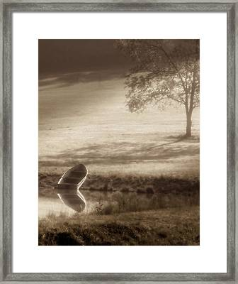 In Quiet Solitude Framed Print by Tom Mc Nemar