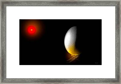 In The Beginning Framed Print by Bob Orsillo