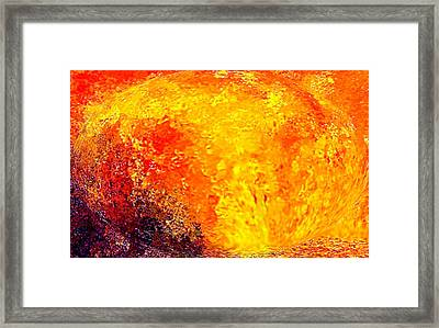 In The Heart Of The Mother V.3 Framed Print by Rebecca Phillips