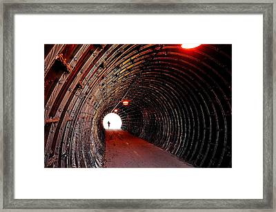 In The Spotlight Framed Print by Frozen in Time Fine Art Photography