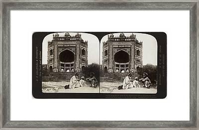 India Fatehpur Sikri, C1907 Framed Print