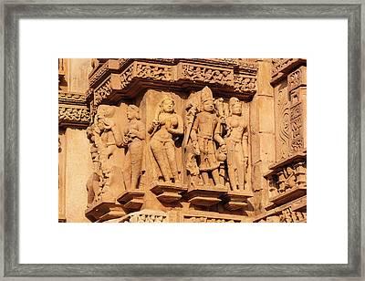 India, Madhya Pradesh, Chhatarpur Framed Print