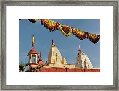 India, Rajasthan, Jhunjhunu District Framed Print