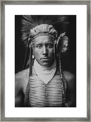 Indian Of North America Circa 1905 Framed Print