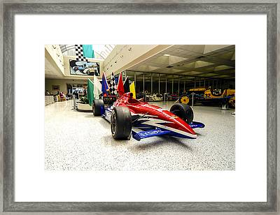 Indianapolis 500 Framed Print by Chris Smith