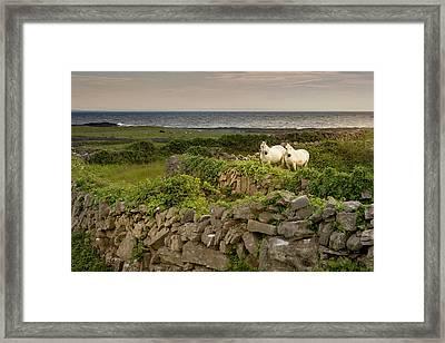 Inishmore Island Framed Print