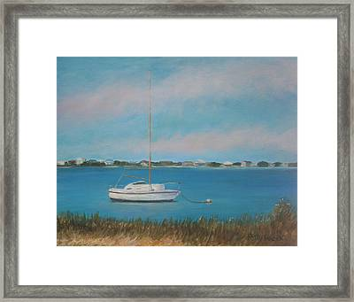Inlet Drive Framed Print