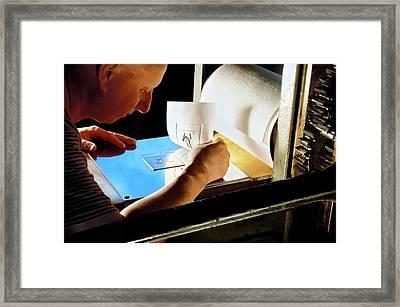 Intaglio Printmaking Framed Print