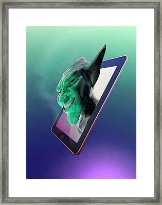Internet Troll Framed Print