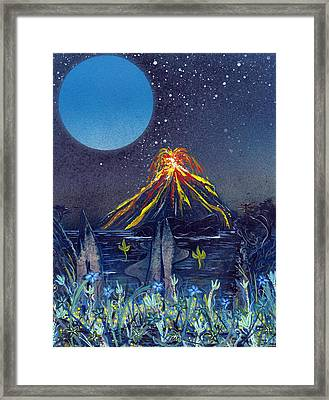 Interruption Framed Print