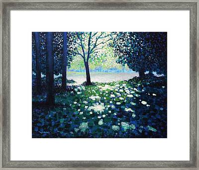 Into The Light Framed Print by John  Nolan