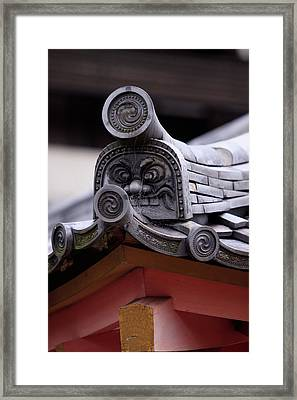 Intricate Details In The Construction Framed Print by Paul Dymond
