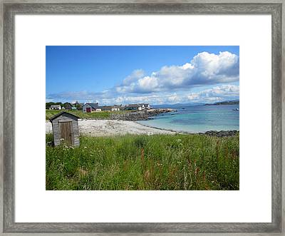 Iona Beach Framed Print